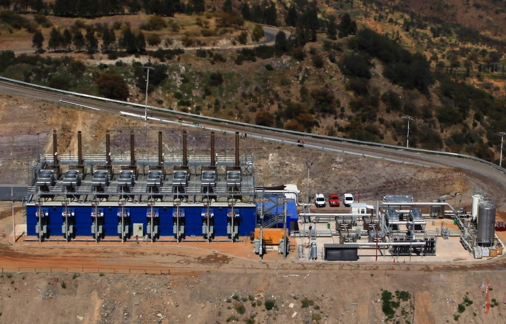 Landfill gas capture in Chile